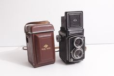 Pearl River TLR Medium Format Camera with case