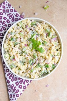 Cold Pasta Recipes With Mayo.Summer Macaroni Salad W Pancetta And Peas In A Lemon . Hawaiian Pasta Salad KeepRecipes: Your Universal Recipe Box. 9 Easy Broccoli Salad Recipes FaveHealthyRecipes Com. Home and Family Deviled Egg Pasta Salad Recipe, Tuna Macaroni Salad, Tuna Pasta, Deviled Eggs, Chicken Pasta, Tortellini, Orzo, Cold Pasta Recipes, Easy Salad Recipes