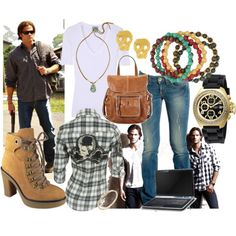 Sam Winchester outfit