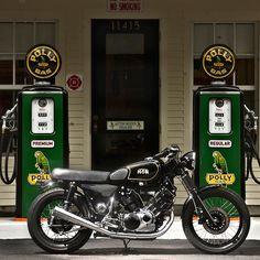 Yamaha Virago 1100 Custom Cafe - via Bike EXIF
