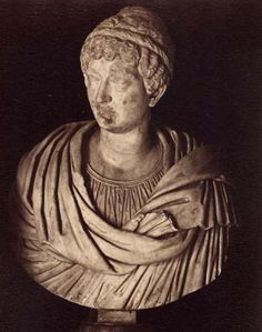 Julia Maesa, the mother of Julia Soaemias. Marble. Rome, Capitoline Museums