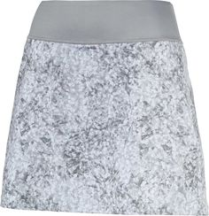 Puma Women's Pwrshape Floral Knit Golf Skirt, Gray Golf Skirts, Knit Skirt, Stretch Fabric, Sequin Skirt, Knitting, Lady, Floral, Heat Transfer, Products