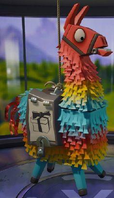 Fortnite Battle Royale Llama Pinata Birthday Party Llama