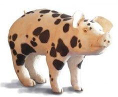 Image result for paper mache pig statue