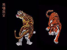 Znalezione obrazy dla zapytania jacket with a tiger at the back