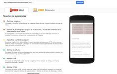 Sitio móvil de la web de Álvarez Molares Periodismo y Web