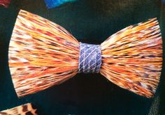Bow ties made with real bird feathers! Brackish BowTies.com