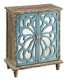 Look what I found on #zulily! Blue Accent Chest by Coast to Coast #zulilyfinds