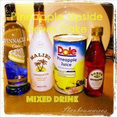mixed drinks pineapple upside down cake recipe