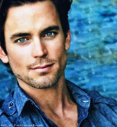 Matt Bomer-blue eyed boy