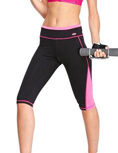 Spalding Women's Capri Legging at Amazon Women's Clothing store: Athletic Leggings