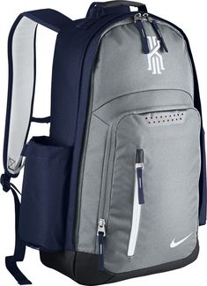 Amazon.com: Nike mens KYRIE BACKPACK BA5133-012 - WOLF GREY/MIDNIGHT NAVY/WHITE: Sports & Outdoors