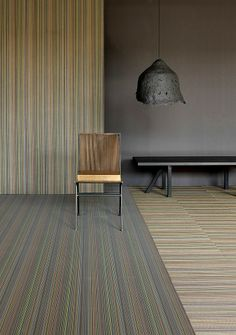 CHILEWICH WALL TEXTILES IN GEMSTONE STRIPE | NEOCON 2014 PREVIEW: WALL COVERINGS | INTERIOR DESIGN MAGAZINE ONLINE