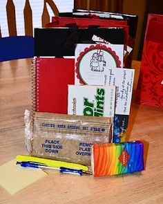 General Conference Visiting Teaching Goodie bags