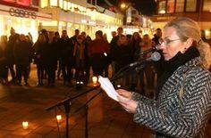 Frankrikes visekonsul i Tromsø, Laurence Frémon, uttrykte hvor rørt hun var over den omtanken Tromsø har vist Frankrike etter terrorangrepene sist fredag. (Foto: Ronald Johansen)