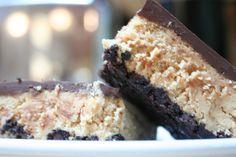 Gluten Free Chocolate Peanut Butter Brownie Bars | Udi's® Gluten Free Bread