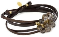 Accessories and Beyond Brown Leather Smoky Quartz Gems Wrap Bracelet Accessories & Beyond, http://www.amazon.com/dp/B004V2S9SS/ref=cm_sw_r_pi_dp_GEB7qb1320GRZ