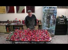LEARN HOW TO PAINT LARGE ABSTRACT ARTWORKS Art classes & video art lessons