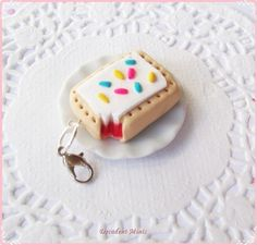 This super sweet Pop-Tart charm: | 39 Accessories That Look Exactly Like Your Favorite Food