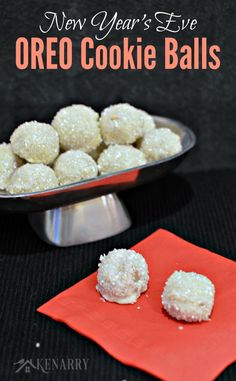OREO Cookie Balls: Sparkly Treat for New Year's Eve - Kenarry