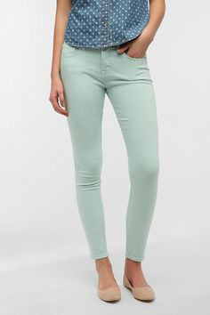 BDG Twig Mid-Rise Jean - Eggshell Blue  #UrbanOutfitters