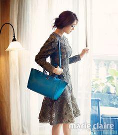 Kim Hyo-jin // Marie Claire Korea // September 2013