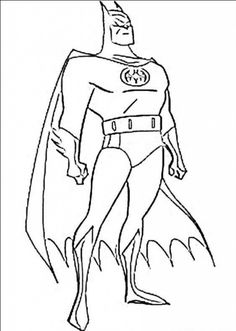 Batman And Robin Coloring Pages For Kids Coloring Pages World