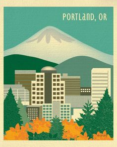 Portland, Oregon is available in an array of finishes, materials, and sizes…