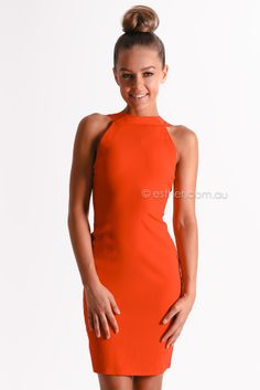 willow dress - red | Esther clothing Australia and America USA, boutique online ladies fashion store, shop global womens wear worldwide, designer womenswear, prom dresses, skirts, jackets, leggings, tights, leather shoes, accessories, free shipping world wide. – Esther Boutique