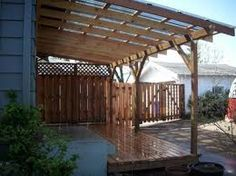23 Amazing Covered Deck Ideas To Inspire You, Check It Out! Ideas Tags:  Covered Deck Ideas On A Budget, Partially Covered Deck Ideas, Second Story  Covered ...