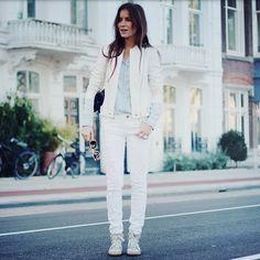White on white on white @ganbaroo @PaigeDenim #isabelmarant #amsterdam