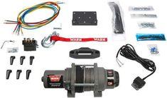 WARN 99389 Vantage 3000-S ATV Winch Synthetic Rope 37-4593 4505-0603 619-99389