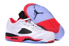 "the best attitude a5426 98dea New Air Jordan 5 Retro Low ""Fire Red Black Tongue"" 2016"