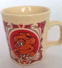 Fozzie Cup Mug Muppet Show Henson Vintage Kiln Craft  England 1978 New
