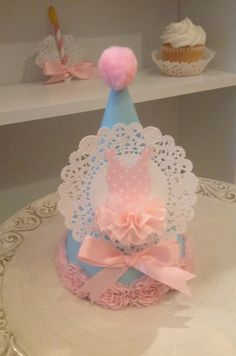 Sweet Ballet Party Hat for Ballerina Party