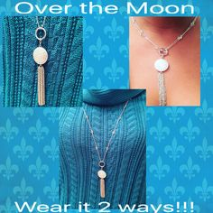 "So many ways to wear Traci Lynn Fashion Jewelry!!! Shop online today and select ""NOVEMBER TO REMEMBER"" party at checkout. Receive a free gift from me!!! www.tracilynnjewelry.net/ebonyfarrish"