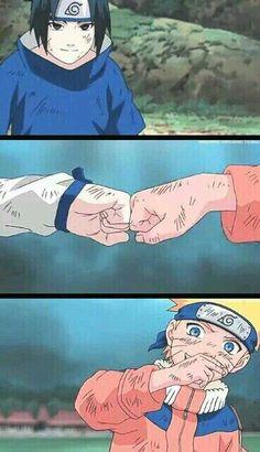 Sasuke & Naruto Episode: Protect the Waterfall Village Naruto Shippuden Sasuke, Naruto Kakashi, Sasunaru, Anime Naruto, Naruto Team 7, Naruto Cute, Naruto Gaiden, Gaara, Boruto