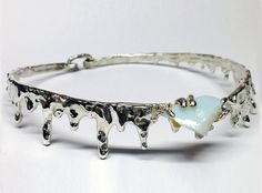 Handcrafted Moonstone choker necklace by HLSK on Etsy, $300.00