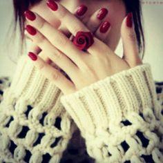 »✿❤ Mego❤✿« Dpz #girl #red #rose