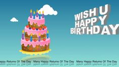 Happy Birthday GreetingsWishesWhatsapp Video DownloadQuotesBirthday Animation