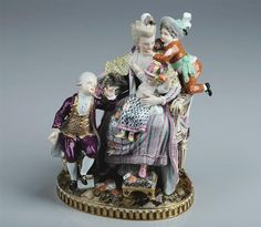 Figure The good mother Meissen, made 1774 Dresden, Museum, Best Mother, Online Collections, Visual Arts, French Country, Nostalgia, Painting, Vintage