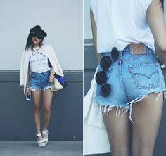 JACOBS #Levis #501 (by Willabelle Ong) http://lookbook.nu/look/4772915-Marc-By-Jacobs-Tee-Levis-Evis-501-Jeans-Diy