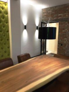 """ by Simona Rizzi! With and original Designers Guild, Brick Wall, Romania, Wall Lights, Velvet, Interior Design, The Originals, Lighting, Twitter"