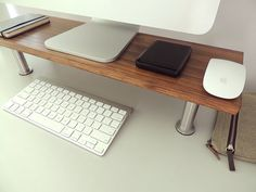 This is one of my home projects with wood. I am offering this stand for someone who spends hours in front of a computer. A delicate and careful
