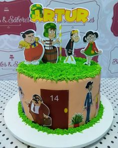 Topo de bolo turma do chaves para editar e imprimir - Mimo Kids 17th Birthday, Birthday Parties, Birthday Cake, Beautiful Cakes, Amazing Cakes, Pastel Mickey, Paper Cake, Love Craft, Natural Shapes
