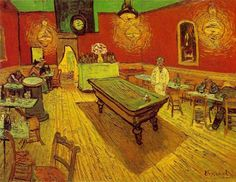 Vincent Van Gogh - The Night Cafe (1888)