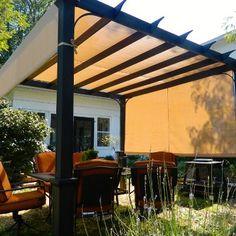 Pergola with shade... love it...