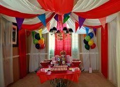 De Su Mama: Big Top Circus Baby Shower: Waiting For Camden