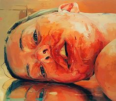 Browse Jenny Saville paintings, drawings, biographical information, and upcoming shows. Jenny Saville paints female nudes in extreme states of grotesque exaggeration. Jenny Saville Paintings, Blog Art, L'art Du Portrait, Gagosian Gallery, Arte Sketchbook, A Level Art, Arte Horror, Pretty Art, Aesthetic Art