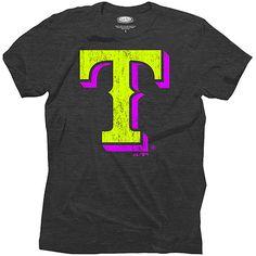 Texas Rangers Triblend Neon T-Shirt - MLB.com Shop